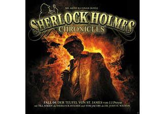 Sherlock Holmes Chronicles 04: Der Teufel von St. James - 2 CD - Krimi/Thriller