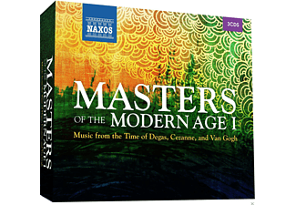 VARIOUS - Masters Of The Modern Age I - (CD)