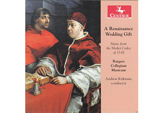 Rutgers Collegium Musicum - A Renaissance Wedding Gift - (CD)