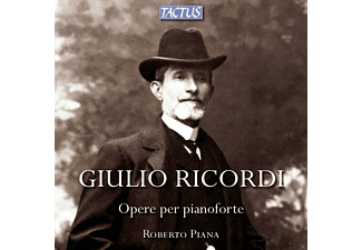 Roberto Piana - Opere Per Pianoforte - (CD)