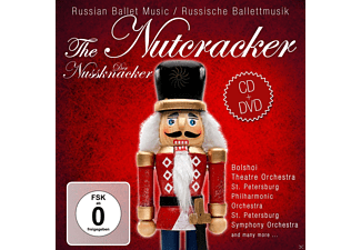 VARIOUS - The Nutcracker-Russian Ballet Music - (CD + DVD Video)