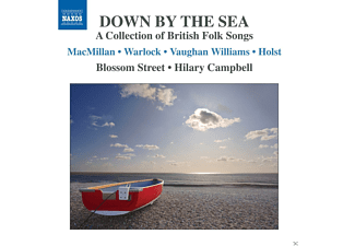 Hilary Campbell, Blossom Street - Down By The Sea - British Folk Songs - (CD)