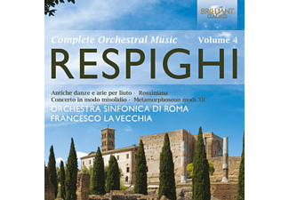 Desiree Scuccuglia, Orchestra Sinfonica Di Roma - Orchestral Works Vol.4 - (CD)