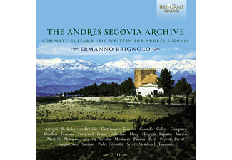 VARIOUS - The Andres Segovia Archives - (CD)