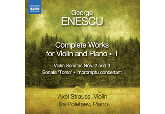 Ilya Poletaev, Strauss Axel - Complete Works For Violin And Piano 1 - (CD)