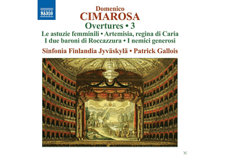 Patrick Gallois, Sinfonia Finlandia - Ouvertures 3 - (CD)