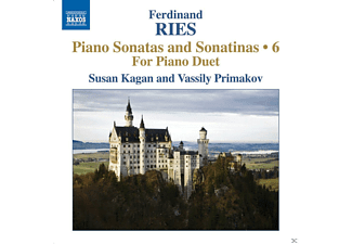 Vassily Primakov, Kagan Susan - Piano Sonatas And Sonatinas 6 - For Piano Duet - (CD)