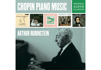 Arthur Rubinstein, Los Angeles Philharmonic - Arthur Rubinstein Plays Chopin-Original Album Classics [CD]