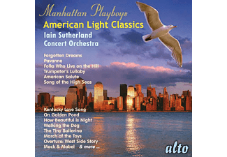 Concert Orchestra - Manhattan Playboys - American Light Classics - (CD)