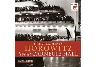 Vladimir Horowitz - Great Moments Of Vladimir Horowitz Live At Carnegie Hall - (CD)