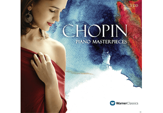 Frédéric Chopin - Piano Masterpieces - (CD)