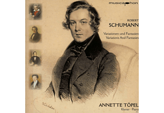 Annette Topel - Variationen Und Fantasien - (CD)