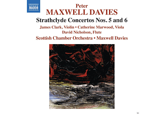 James Clark, Catherine Marwood, David Nicholson, Scottish Chamber Orchestra - Strathclyde Concertos Nos. 5 And 6 - (CD)