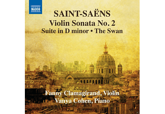Fanny Clamagirand, Vanya Cohen - Violin Sonata No. 2 / Suite In D Minor / The Swan - (CD)