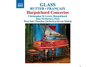 Christopher D. Lewis, John McMurtery, West Side Chamber Orchestra - Harpsichord Concertos - (CD)