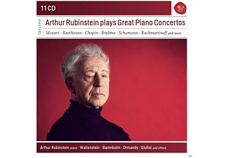 Arthur Rubinstein - Arthur Rubinstein Plays Great Piano Concertos [CD]
