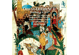 Hesperion Xxi - Jordi Savall - ORIENT-OCCIDENT 2 - TRIBUTE TO SYRIA - (SACD Hybrid)