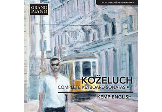 English Kemp - Complete Keyboard Sonatas Vol. 1 - (CD)