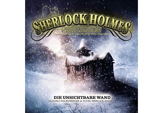 Sherlock Holmes Phantastik 01: Die unsichtbare Wand - 2 CD - Science Fiction/Fantasy