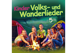 VARIOUS - Kinder Volks - Und Wanderlieder - (CD)