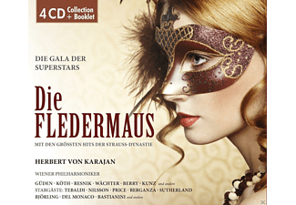 Wiener Philharmoniker, VARIOUS - Die Fledermaus-Die Gala Der Superstars [CD]