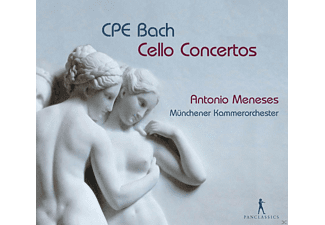 Antonio Meneses, Münchener Kammerorchester - Cello-Konzerte - (CD)
