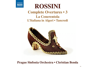 Prague Sinfonia Orchestra - Complete Overtures 3 - (CD)