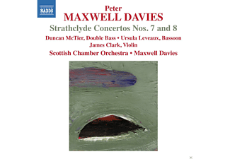 Duncan McTier, Ursula Leveaux, James Clark, Scottish Chamber Orchestra - Strathclyde Concertos Nos. 7 And 8 - (CD)