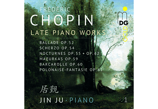 Jin Ju - Late Piano Works Vol.1 - (CD)