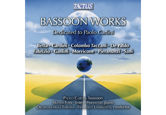 Paolo Carlini - Bassoon Works - (CD)