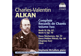 Stephanie Mccallum - Complete Recueils de Chants Volume Two - (CD)