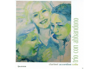 Trio Con Abbandono - Clarinet Accordion Cello - (CD)