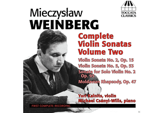 Yuri Kalnits, Michael Csanyi-Wills - Complete Violin Sonatas Volume Two - (CD)