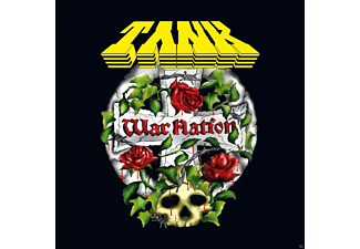 Tank - War Nation (Red Vinyl) - (Vinyl)