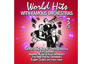 VARIOUS - World Hits - With Famous Orchestras - (CD)