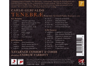 Taverner Consort, Taverner Choir - Tenebra - Responses For Good Friday - (CD)