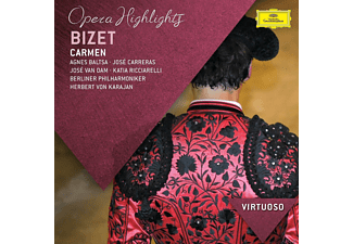 Agnes Baltsa, José Carreras, Katia Ricciarelli, Berliner Philharmoniker, Van Dam Jose - Carmen (Highlights) - (CD)