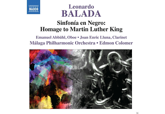 Malaga Philharmonic Orchestra - Sinfonia En Negro: Homage To Martin Luther King - (CD)