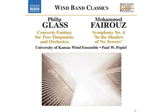 University Of Kansas Wind Ensemble - Concerto Fantasy/Sinfonie 4 - (CD)