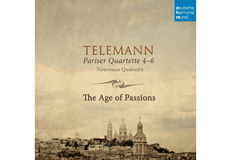 The Age of Passions - Telemann: Pariser Quartette 4-6 - (CD)