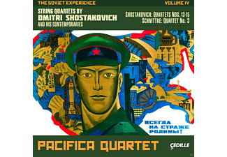 Pacifica Quartet - The Soviet Experience - (CD)