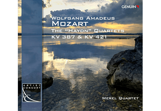 Merel Quartet - Haydn-Quartette Kv 387 & 421 - (CD)