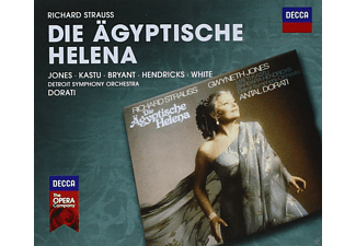 Matti Kastu, Dinah Bryant, Barbara Hendricks, Willard White, Detroit Symphony Orchestra, Jones Gwyneth - Die Ägyptische Helena [CD]