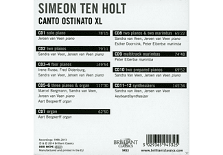Various - Canto Ostinato Xl (Box-Set) - (CD)