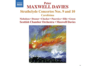 Scottish Chamber Orchestra - Strathclyde Concertos 9+10 - (CD)