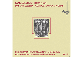 Thomas Meyer-bauer - Scheidt: Complete Organ Works Vol. 8 - (CD)