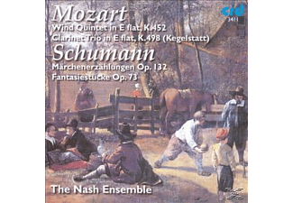 Nash Ensemble - Mozart:Kegelstatt Trio - (CD)