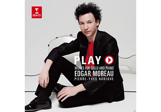Pierre-yves Hodique, Edgar Moreau - Play - Works For Cello And Piano [CD]