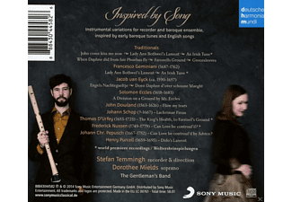 Dorothee Mields, Stefan Temmingh, The Gentleman's Band - Inspired By Songs - (CD)