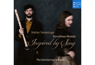 Dorothee Mields, Stefan Temmingh, The Gentleman's Band - Inspired By Songs [CD]